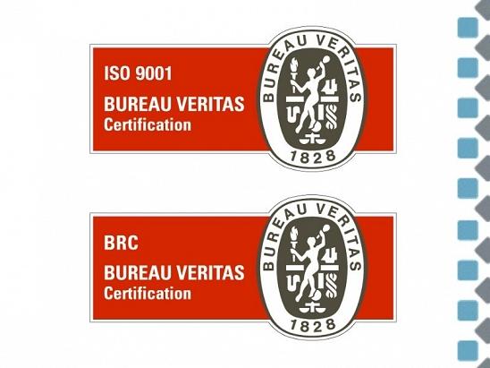 Certificación ISO BRC